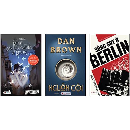 Combo 3 Cuốn - Tuyển Tập Siêu Trinh Thám: Nguồn Cội + Sống Sót Ở Berlin + Mình Cần Nói Chuyện Về Kelvin