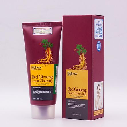 Sữa rửa mặt cao cấp Hồng Sâm Benew Red Ginseng (100ml)