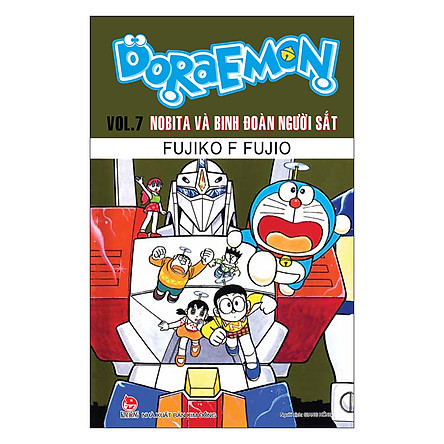 Doraemon - Truyện Dài - Tập 7: Nobita Và Binh Đoàn Người Sắt (Tái Bản 2019)