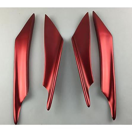 4Pcs Car Front Bumper Canard Lip Splitter Fin Body Spoiler Universal Modified Decoration