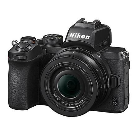 Máy ảnh Nikon Z50 Kit 16-50mm F/3.5-6.3 VR (Tặng Thẻ 16GB) - Hàng Nhập Khẩu