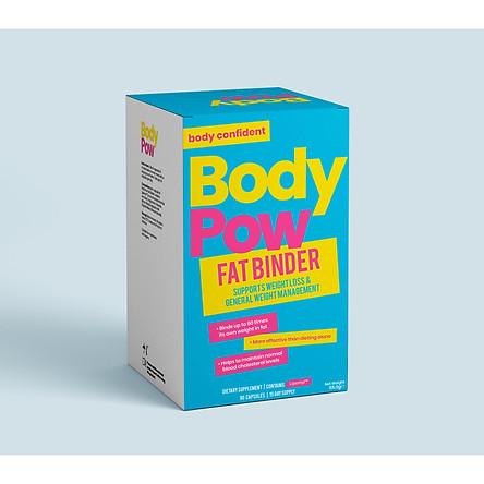 VIÊN UỐNG HỖ TRỢ GIẢM CÂN BODY POW FAT BINDER (90 VIÊN/ HỘP)