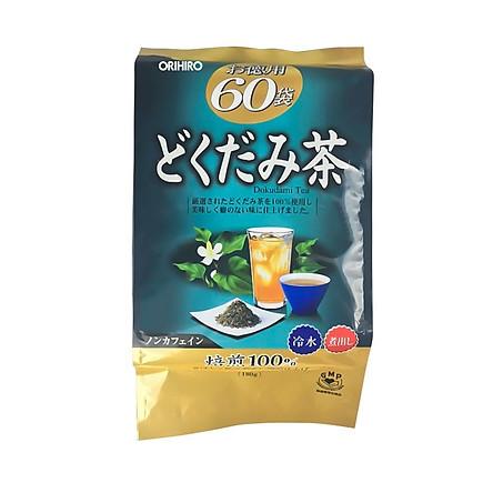 Trà thải độc diếp cá Dokudami Orihiro Nhật Bản túi 60 gói