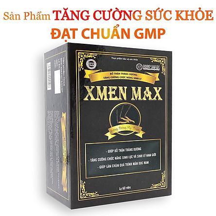 Thực phẩm bảo vệ sức khỏe XMEN MAX