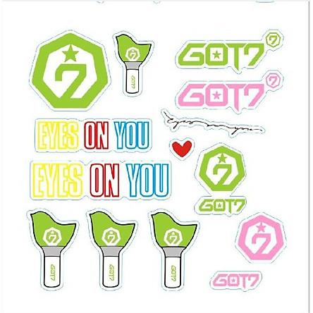 Sticker Dán Nổi GOT7