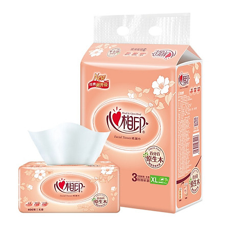Heart phase printing paper classic series 2 layer 200 pumping tissue paper * 6 package (in the specifications / new and old packaging random delivery) soft pumping