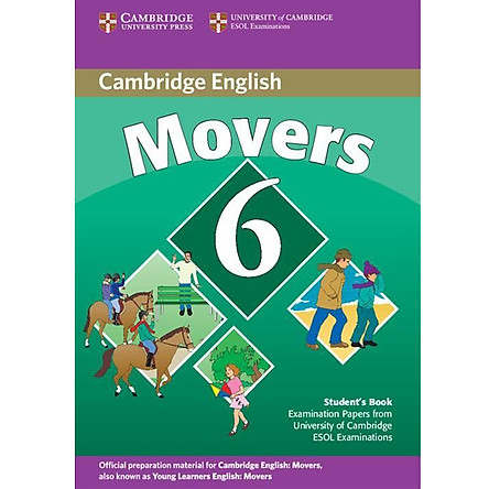 Cambridge Young Learner English Test Movers 6: Student Book