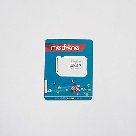Sim 4G Campuchia 15 ngày, 40GB Data tốc độ cao, Không giới hạn Data tốc độ thường, Có thoại