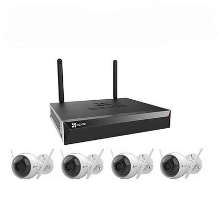 Bộ Kit camera IP Wifi EZVIZ CS-BW3424B0-E40 - Hàng Chính Hãng