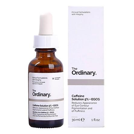 Serum Dưỡng Mắt Che Quầng Thâm The Ordinary Caffeine Solution 5% + EGCG (30ml)
