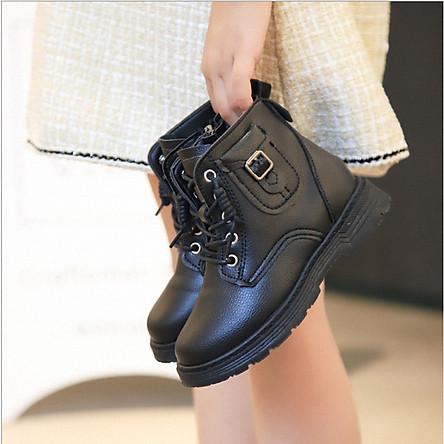 Giày bốt bé gái cao cấp_TT336