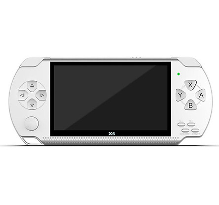 X6 Video Game Console Player 4.3 inch HD Screen Video Playback No Conversion Required