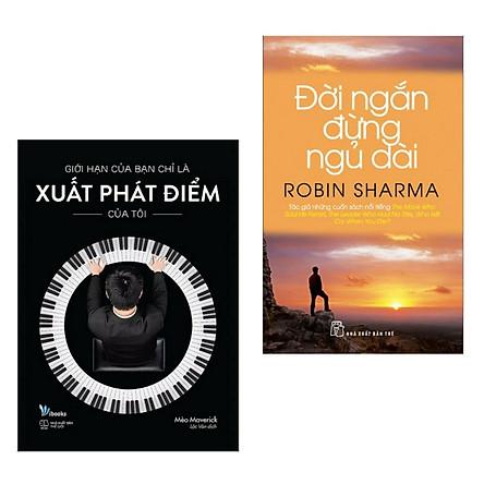 Combo 2 Cuốn Sách Tạo Động Lực Bứt Phá Cho Giới Trẻ: Giới Hạn Của Bạn Chỉ Là Xuất Phát Điểm Của Tôi + Đời Ngắn Đừng Ngủ Dài (Top Sách Kỹ Năng Sống Bán Chạy - Tặng Kèm Bookmark Green Life)