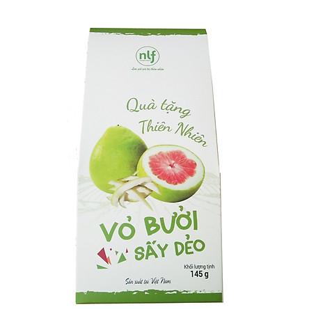 VỎ BƯỞI SẤY DẺO hộp 145G thương hiệu Nông Lâm Food - đặc sản Việt Nam