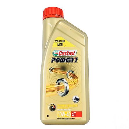 Dầu nhớt động cơ xe máy Castrol Power1 4T 10W-40 1L