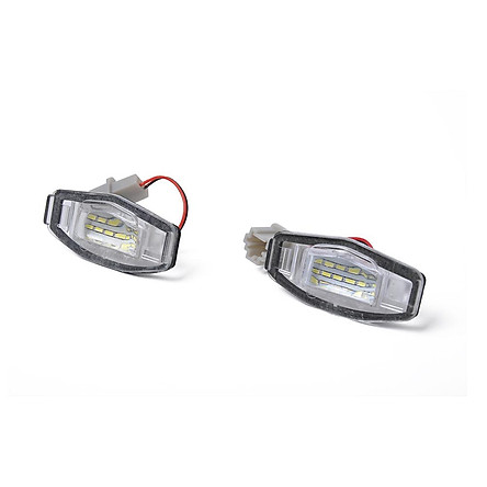 Direct Fit White LED License Plate Light Lamps for Acura TL TSX Honda Civic