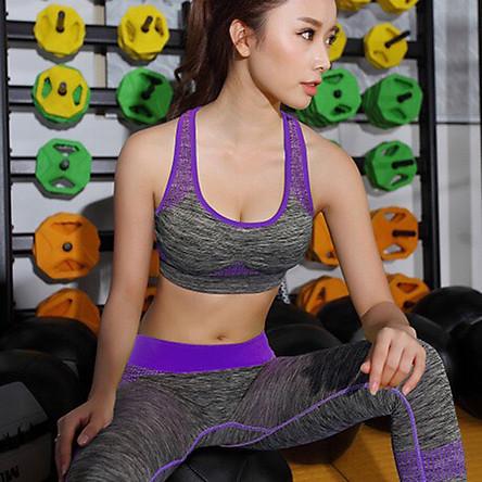 Bộ Đồ Tập Gym Nữ, Yoga, Aerobic, Thể Thao YT11 Cao Cấp