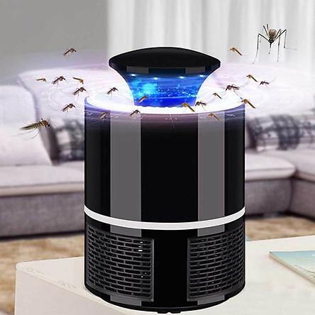 Đèn bắt muỗi thông minh hình trụ (giao màu ngẫu nhiên)