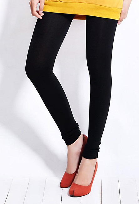 Quần tất lót lông màu đen dành cho bạn nữ (Freesize)