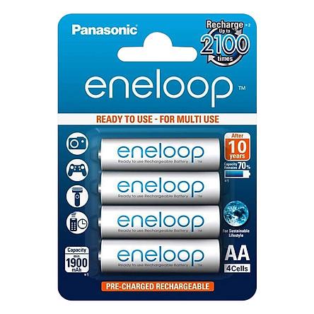 Pin sạc AA - Panasonic - Eneloop 1900mah - Hàng Nhập Khẩu
