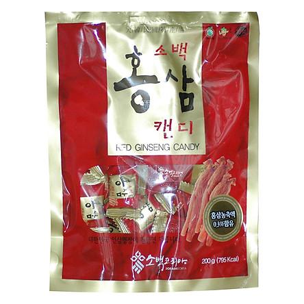 Kẹo Hồng Sâm Sobaek Candy Ginseng TP0013 (200g)