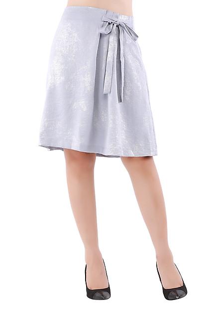 Chân Váy Nữ An Thủy M9 - Màu Ghi