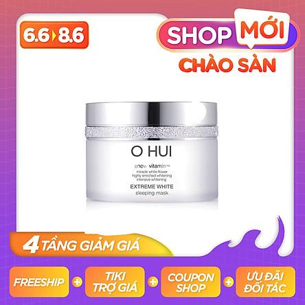 Mặt nạ ngủ dưỡng trắng da OHUI Extreme White Sleeping Mask FI50243034/FI50233238 (100ml)