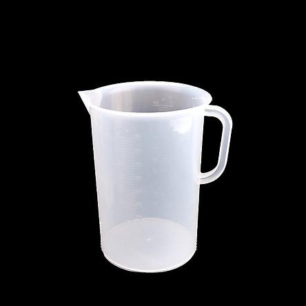Bộ 2 Ca Đong Nhựa Có Vạch Chia Định Lượng 5 Lít