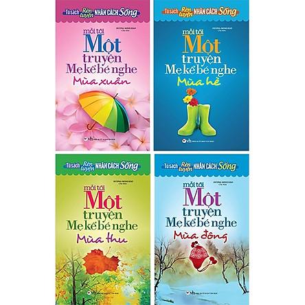 Tủ Sách Rèn Luyện Nhân Cách Sống - Mỗi Tối Một Truyện Mẹ Kể Bé Nghe (Bộ 4 Cuốn)