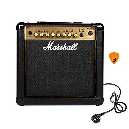 Ampli Marshall MG15FX Gold (Công Suất 15W) Amply Đàn Guitar Điện Combo Amplifier MG15GFX Hàng Chính Hãng - Kèm Móng Gẩy DreamMaker