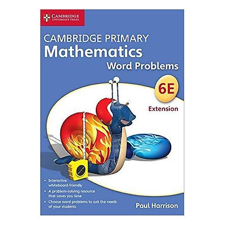 Cambridge Primary Mathematics 6 Extension: Word Problems  DVD-ROM