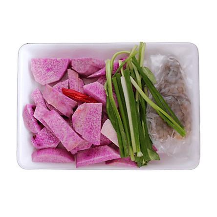 [Chỉ Giao HCM] - Canh khoai mỡ nấu tôm