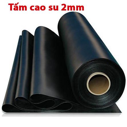 Tấm cao su dày 2mm giảm chấn, chịu lực, chịu nhiệt độ cao, chống trơn trượt, chống rung, chịu dầu, chống cháy,  cách âm dùng để lót sàn làm gioăng giá nhà sản xuất, cuộn cao su tấm giá rẻ