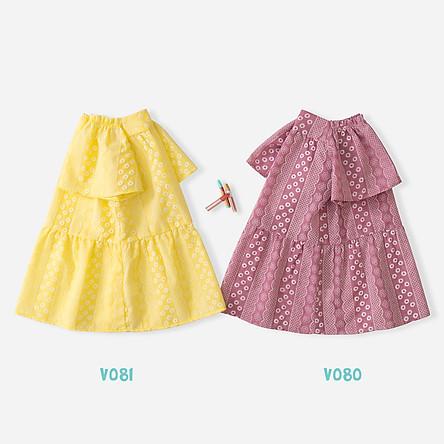 Váy Bé Gái 2 Màu Xinh Xắn Thời Trang Bello Land