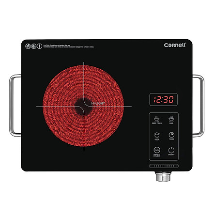 Bếp Hồng Ngoại Đơn Cornell CCC-E2201KG (2200W) - Hàng Chính Hãng