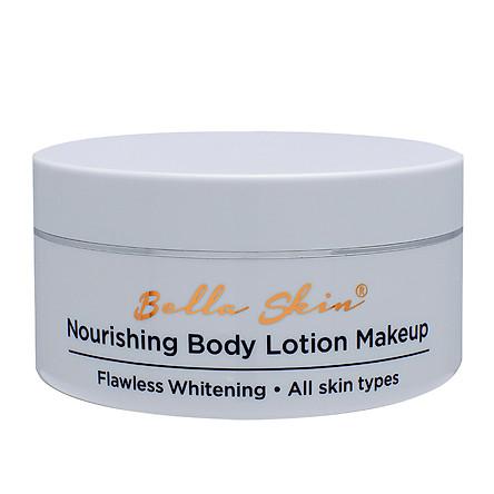Kem dưỡng thể trang điểm chống nắng Bella Skin Nourishing Body Lotion Makeup (200g)