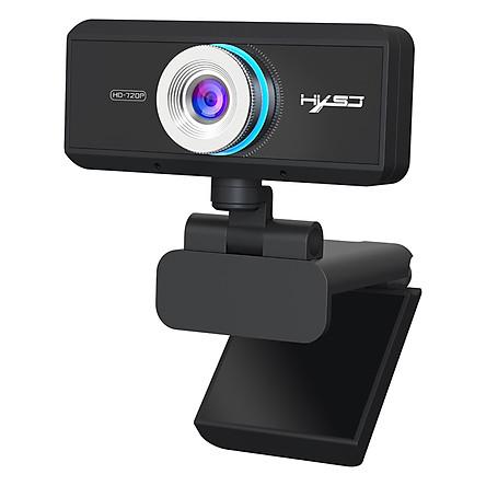 Webcam HXSJ S90 HD USB3.0 2.0 720P Có Thể Điều Chỉnh 360° Kèm Mic Cho Cuộc Gọi Video