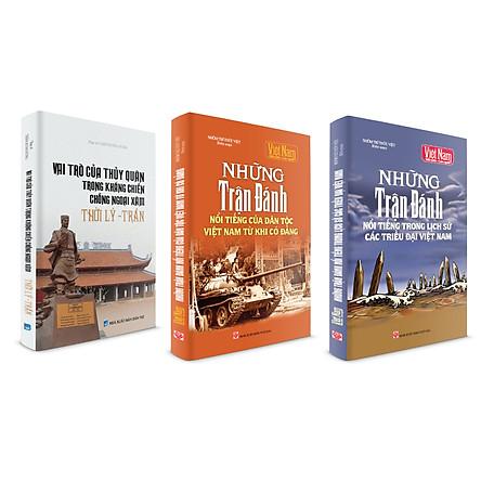 Combo Tủ sách lịch sử - Những trận đánh nổi tiếng trong lịch sử Việt Nam (Bộ 3 cuốn)