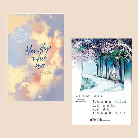 Combo Tiểu Thuyết Lãng Mạn: Tháng Năm Có Anh, Ký Ức Thành Hoa + Hẹn Đẹp Như Mơ (Sách Ngôn Tình Hay Nhất / Tủ Sách Văn Học Hoa Ngữ)