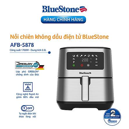 Nồi Chiên Không Dầu Điện Tử BlueStone AFB-5878 (5,5 Lít) - Hàng Chính Hãng