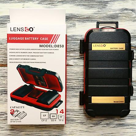 Hộp đựng thẻ nhớ và pin máy ảnh Lensgo D850