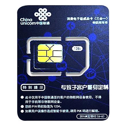 Sim du lịch Trung Quốc China Unicom 5GB dùng trong 7 ngày