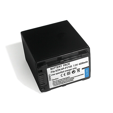 Pin sạc cho máy quay NP-FV100
