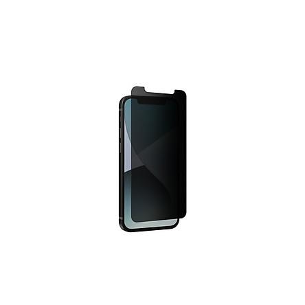 Miếng dán màn hình cường lực bảo vệ cạnh chống nhìn trộm cho iPhone - InvisibleShield Glass Elite Privacy - Hàng chính hãng