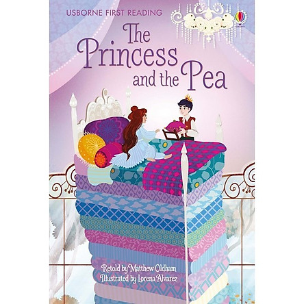 Sách thiếu nhi tiếng Anh - Usborne First Reading Level One: The Princess and the Pea