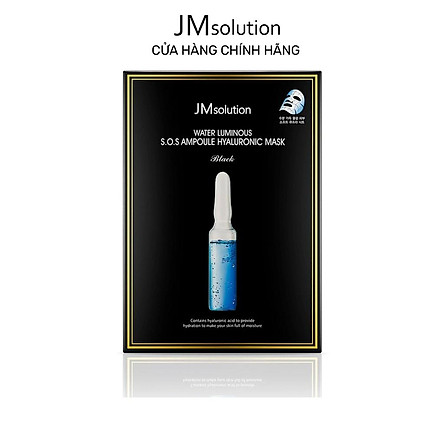 Mặt Nạ Siêu Cấp Ẩm Jmsolution S.O.S Ampoule Hyaluronic Mask 30ml