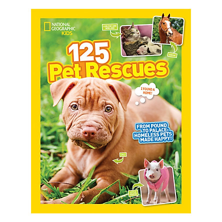 National Geographic Kids 125 Pet Rescues