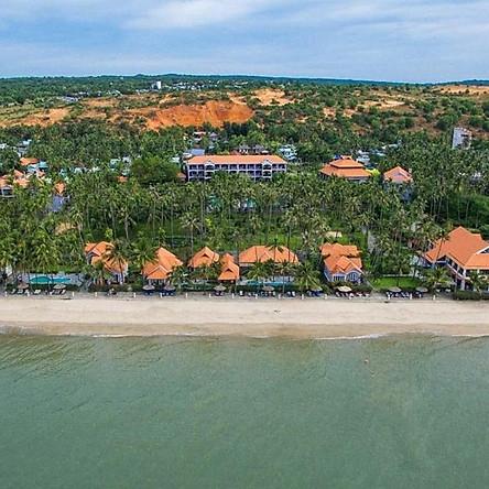 Mũi Né De Century Resort & Spa 4* Phan Thiết - 02 Bữa Ăn, Hồ Bơi, Bãi Biển Riêng, Không Phụ Thu Cuối Tuần