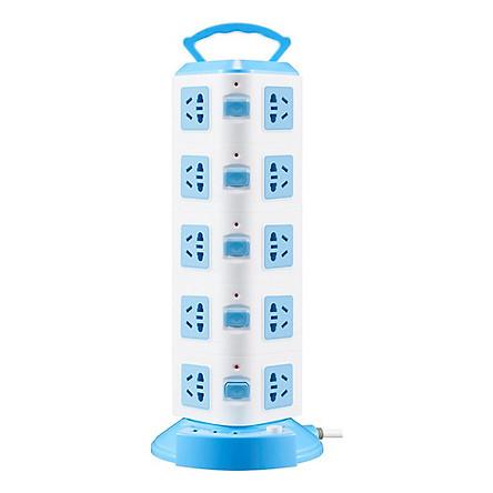 Ổ Cắm Điện SUNTEK Đa Năng 5 Tầng 20 Chân Cắm Điện, 3 Cổng USB 5