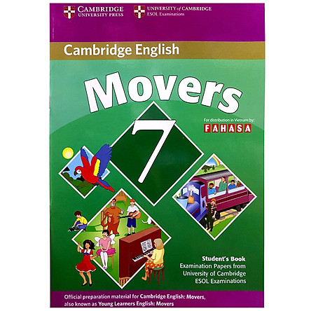 Cambridge Young Learner English Test Movers 7: Student Book